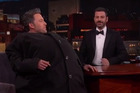 Ben Affleck with Jimmy Kimmel Live host, Jimmy Kimmel.