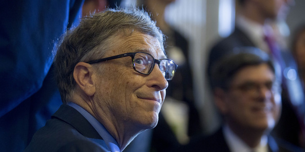Billionaire Bill Gates, chairman and founder of Microsoft. Photo / Bloomberg