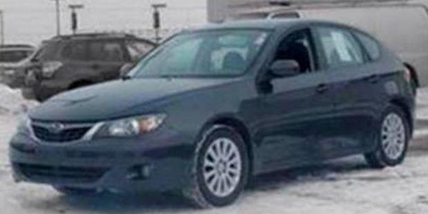 She is driving a Dark Grey Subaru Impreza station wagon. Photo / Supplied via Police