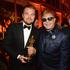 Leonardo DiCaprio and Elton John. Photo / Getty Images