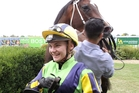 Jockey Danielle Johnson received a top rating from trainer Wairarapa Stephen Marsh. Photo / Duncan Brown