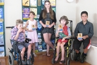 Harvey Ellis (left), Kaleigh Soper, Niamh Adair, Max Thompson-Bailey and Rome Hepi have received Children of Courage awards from Whangarei's Lions clubs.