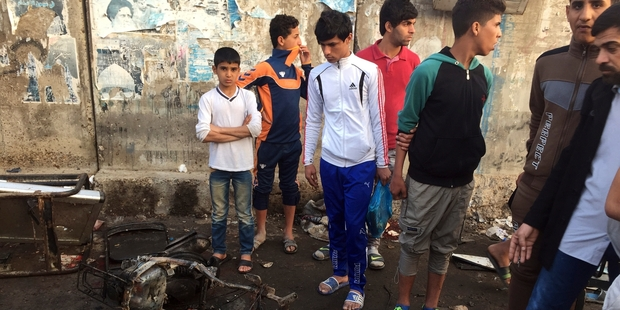 At least 28 people were killed in Sadr City. Photo / AP