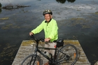 BACK TO FUTURE: Bill McGavock will set off on a ride from Te Awanga to the Bluff on Tuesday, two days after he turns 90. PHOTO/Paul Taylor