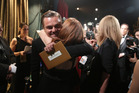 Leonardo DiCaprio won points with fans for addressing global warming in his Oscars speech. Photo / AP