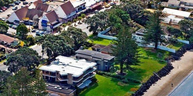 Homes in places such as Orewa in Rodney, north of Auckland,  are starting to rise in value.