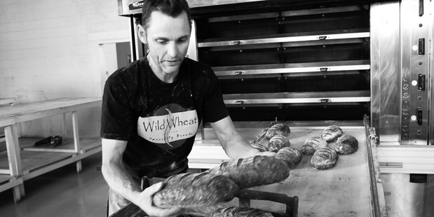 Andrew Fearnside, owner of Wild Wheat Bakery.