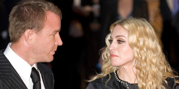 Guy Ritchie and Madonna in 2008. They have taken increasingly bitter custody battle to court. Photo / Getty Images
