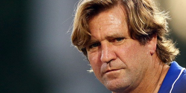 Des Hasler has some advice for fans of his former club. Photo / Getty