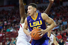 Ben Simmons playing for the LSU Tigers. Photo / Getty Images
