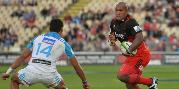 Nemani Nadolo on the charge. Photo / Getty