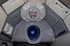 Boeing's self-cleaning toilets use ultraviolet light to kill 99.99 per cent of germs. Photo / File