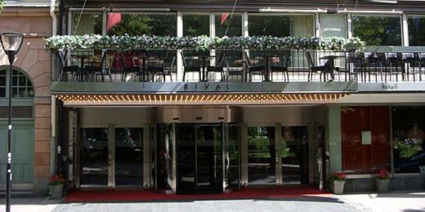 Mamma Mia was premiered at Benny Andersson's Hotel Rival. Photo / Wikimedia Commons