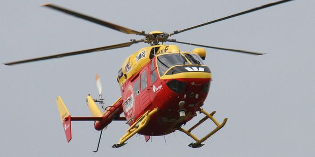 The Life Flight Westpac Rescue Helicopter was scrambled but the man died at the scene. PHOTO/FILE