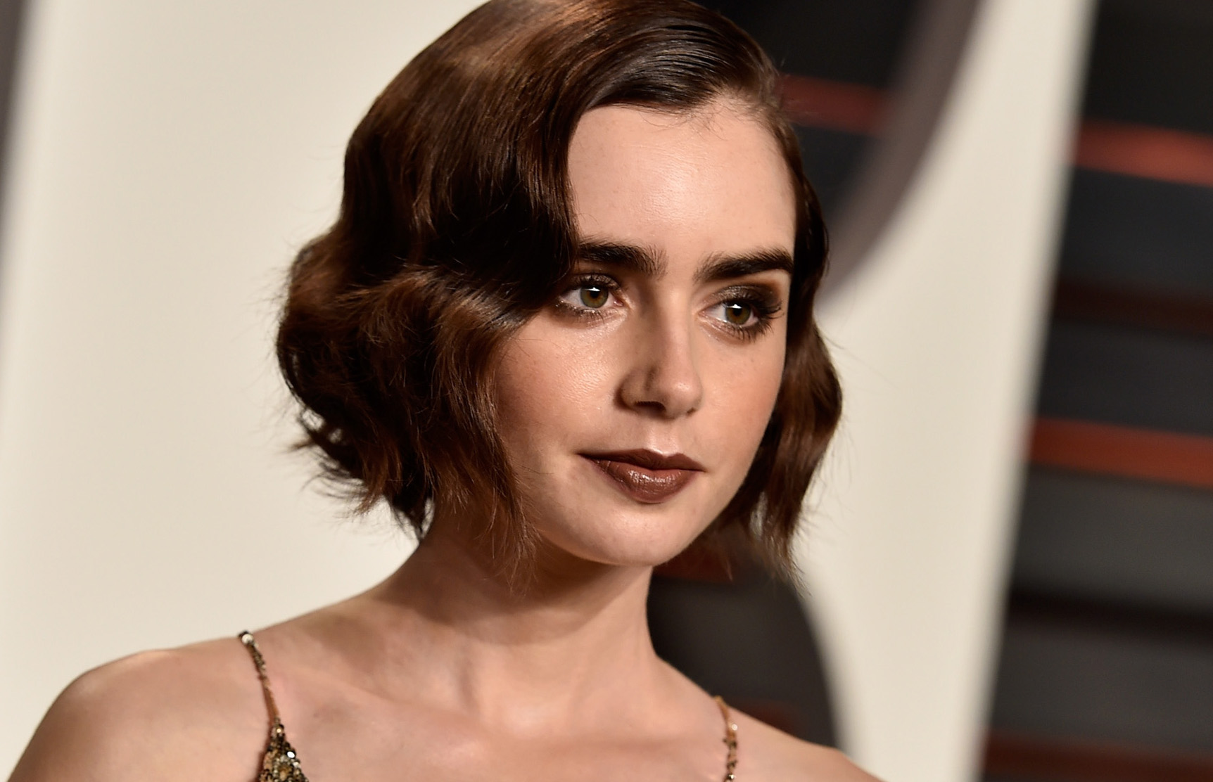 Lily Collins. Photo / Getty
