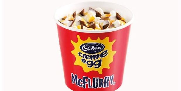 Will this be a hit for Easter? Photo / McDonald's