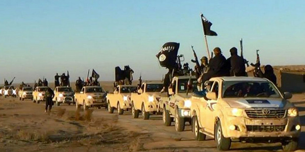 The terrorist group is earning up to $30 million a month. Photo / AP