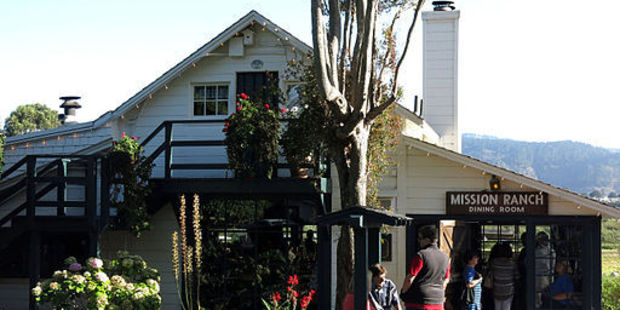 The Mission Ranch was once a dairy farm. Photo / Wikimedia Commons