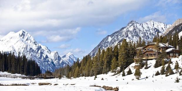 Mount Engadine Lodge. Photo / Supplied