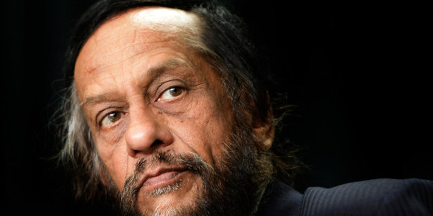 Rajendra Pachauri has been charged with sexually harassing a woman he worked with at a New Delhi energy institute. Photo / AP