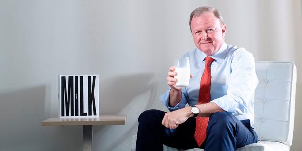 Geoff Babidge, managing director of A2 Milk.