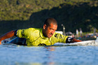 Daniel Kereopa loves Auckland's range of surf beaches.