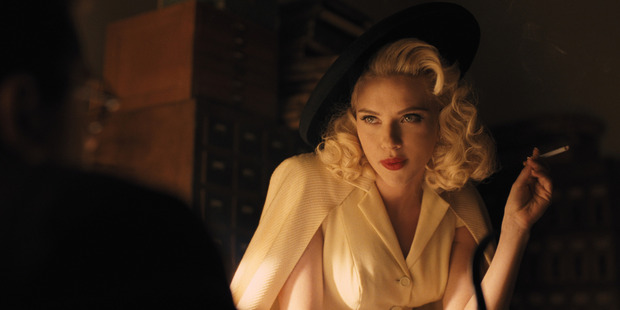 Scarlett Johansson in Hail, Caesar!. Photo / Supplied