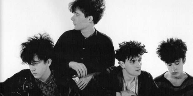 The Jesus and Mary Chain pictured at the time of the releae of Psychocandy in 1985.