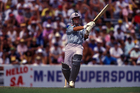 Martin Crowe in action during the 1992 World Cup. Photo / Photosport