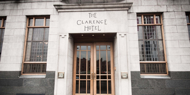 The Clarence Hotel Dublin is a must-stay for U2 fans. Photo / Wikimedia Commons