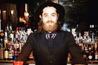 Cameron Attfield is a mixologist at Auckland's Gin Room.