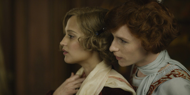 Alicia Vikander and Eddie Redmayne in The Danish Girl. Photo / Supplied