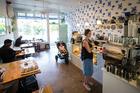The Blue Rose cafe on Sandringham Rd, Auckland. Photo / Jason Oxenham