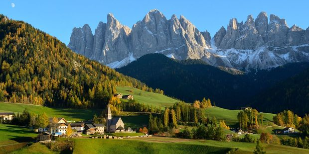 Many tours operate in the Dolomites area of Italy. Photo / 123RF