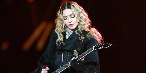 Yes, Madonna is playing at Vector Arena this weekend in what is her first appearance in New Zealand, ever. Photo / AP