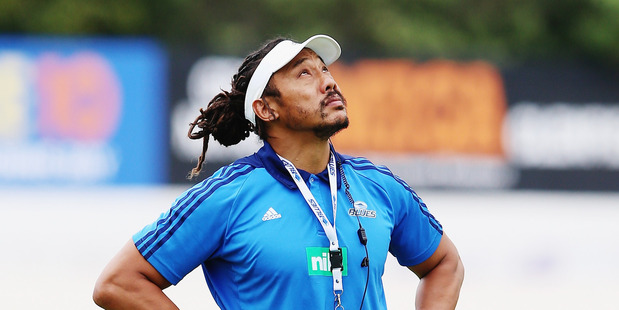 Tana Umaga may yet be proven right over six changes for the Blues' next game. Photo / Getty Images