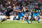 Steven Luatua will play his 50th game for the Blues against the Crusaders in Christchurch tonight. Photo / Getty Images