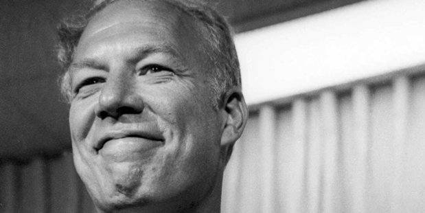 The late George Kennedy won an Oscar after winning best supporting actor for Cool Hand Luke. Photo / AP