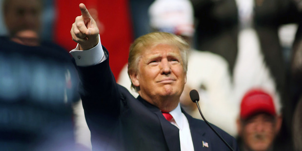 Mr Trump seems to be profiting from a mood of impatience with political compromise, especially among Republican voters. Photo / AP