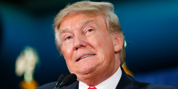 Like any presidential election, there will be tremendous pressure for the GOP to coalesce behind Trump. Photo / AP