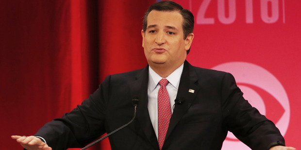 Republican presidential candidate, Sen. Ted Cruz. Photo / AP
