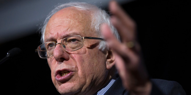 Democratic presidential candidate, Sen. Bernie Sanders speaks at the University of South Carolina, Tuesday, Feb. 16, 2016.