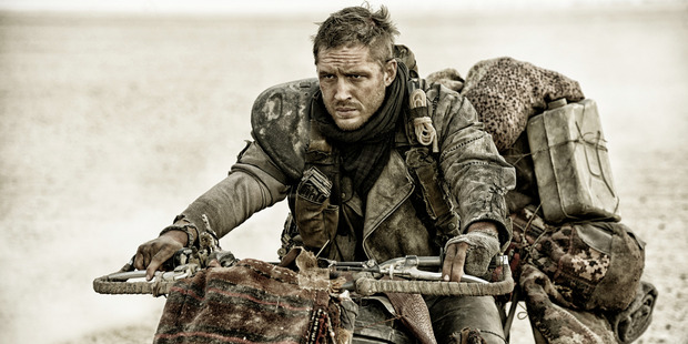 Tom Hardy in a scene from, Mad Max:Fury Road directed by George Miller - who hinted another film may be on the way.