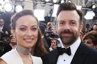 Olivia Wilde and Jason Sudeikis arrive at the Oscars. Photo / AP
