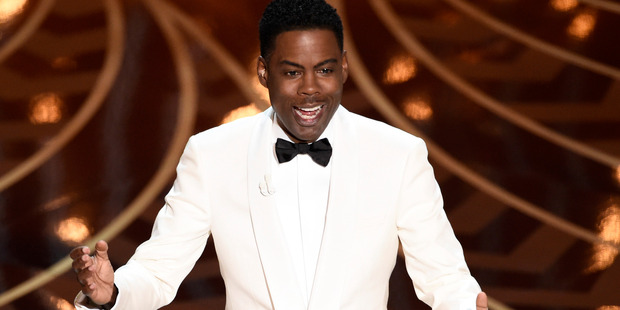 Host Chris Rock was arguably the best part about this year's Oscars ceremony. Photo / Getty