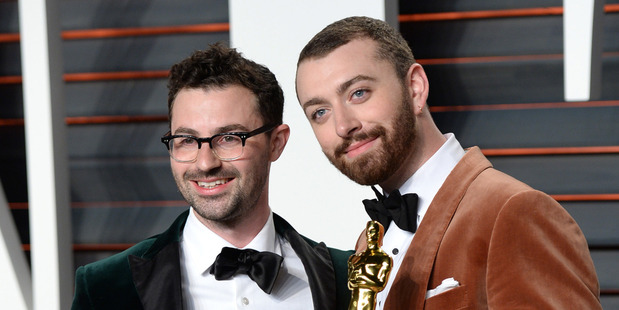 Jimmy Napes, left, and Sam Smith.