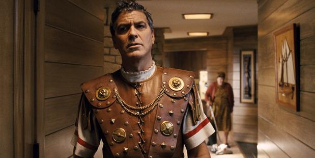 George Clooney stars as Baird Whitlock in Hail, Caesar!