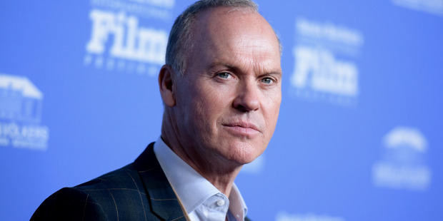 Actor Michael Keaton is said to have been on a flight to Auckland Thursday morning.