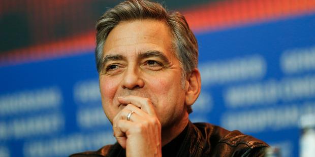 Actor George Clooney. Photo/Axel Schmidt