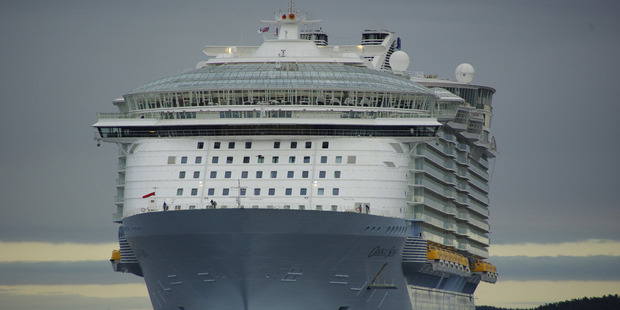 MS Oasis of the Seas is a cruise ship in the fleet of Royal Caribbean International. Photo / Supplied